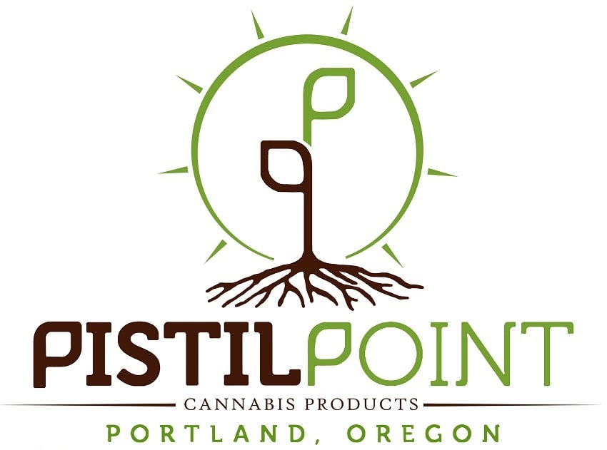 pistil point logo marijuana cannabis